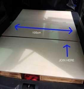 sharan camping car bed for sleeping plywood info