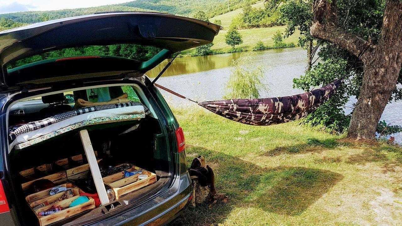 sharan camping car bed for sleeping