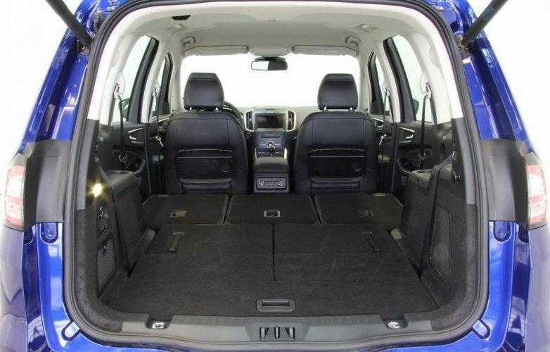 ford galaxy 2016 rear seats folded