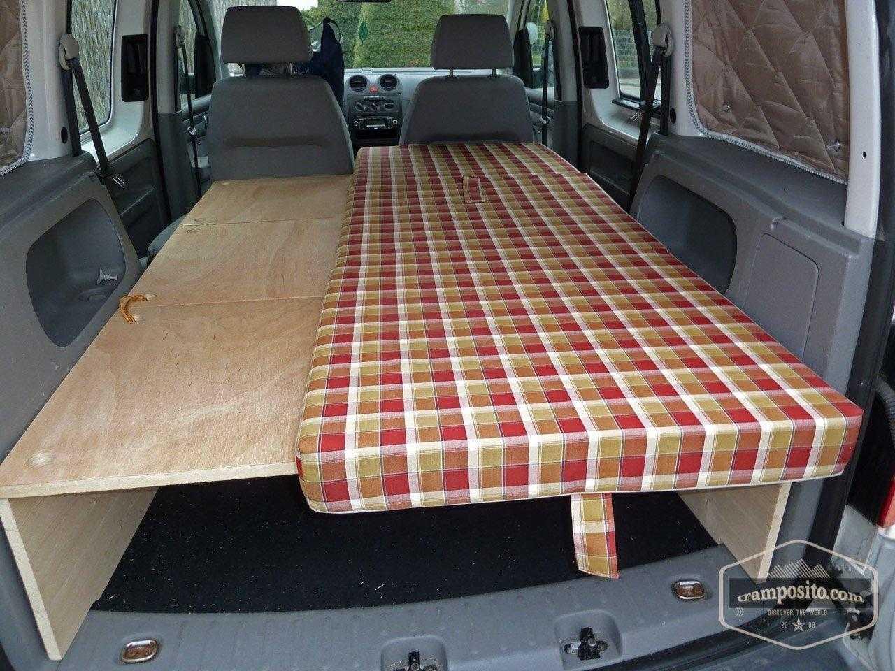 Caddy camper conversion diy 211