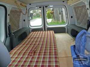 Caddy camper conversion diy 212