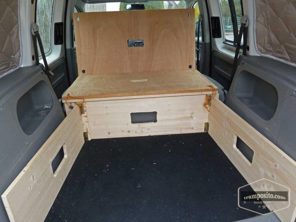 DIY Car camping (microcamper) conversions