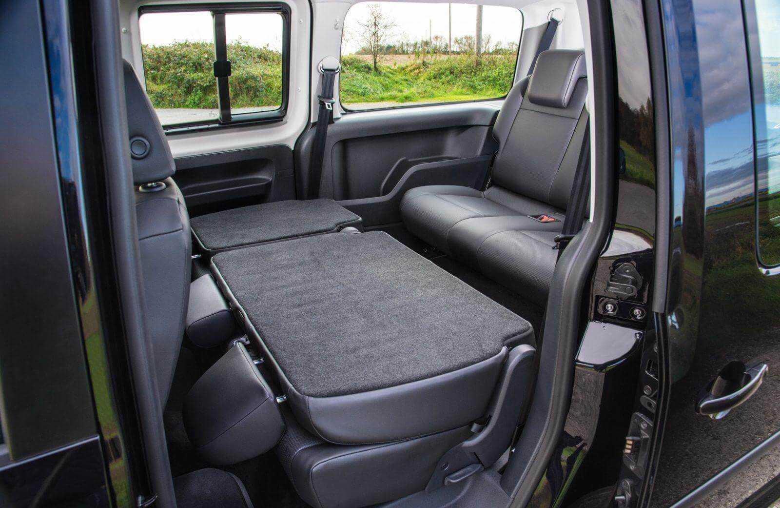 Caddy Maxi Life 2015 backseats folded