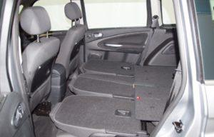 Ford Galaxy 2010 boot seats folded side