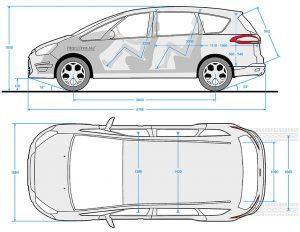 Ford S max 2010 dimensions
