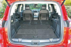 Ford s max 2015 boot trunk seats folded