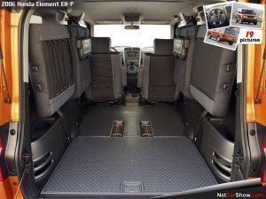 Honda Element 2006 Boot