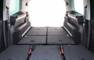VW Sharan 2019 boot rear seats folded2