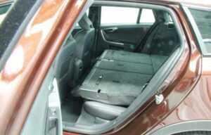 Volvo V60 seats boot folded