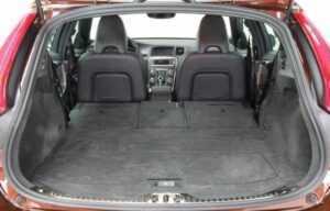 Volvo V60 seats boot folded2