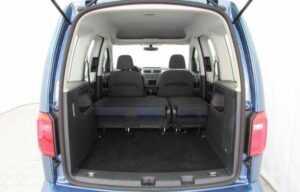 caddy 2015 folded seats