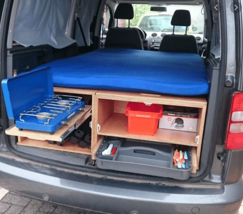 caddy camping conversion microcamper