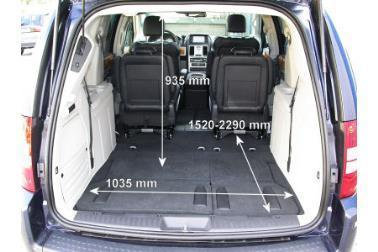grand voyager boot measurements dimensions