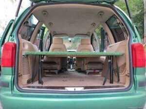 sharan car camping microcamper