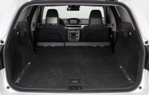 volvo v70 estate 2014 rear seats folded down boot