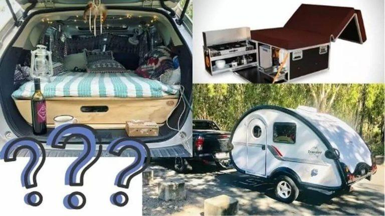 DIY car camping vs camping boxes vs micro campers – which one is for you?