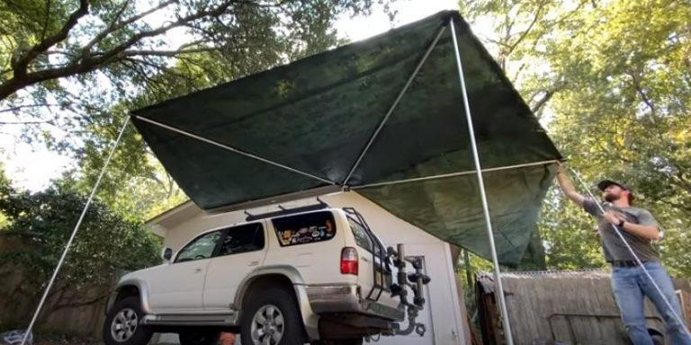 Microcamper pick of the month – DIY camping boxes under 100€ and make your own 270º awning