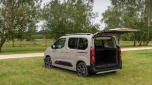 Berlingo camper review: Car camping in Citroen Berlingo or Peugeot Partner