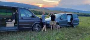 Sharan vs Multivan car camping
