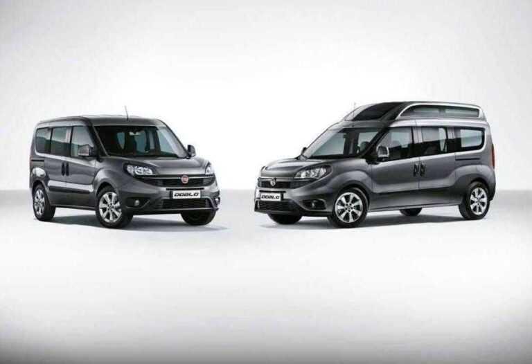 Fiat Doblò dimensions & versions (Cargo, Combi, SWB, Maxi, High roof, XL)