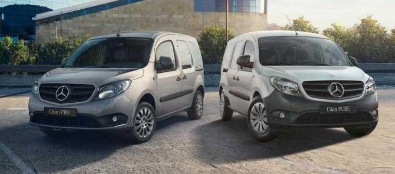 Mercedes Citan dimensions & versions (L2, L3 – panel van, MPV)