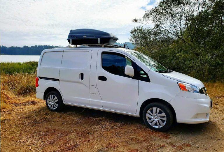 Nissan NV200 Camper: Car camping in NV200 – microcamper conversion review