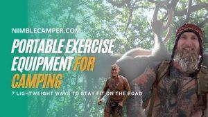 portable exercise equipment for camping