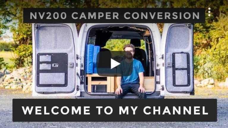 NV200 Camper conversion – follow James on his NV200 camper conversion journey